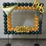 Royal High School balloon selfie station