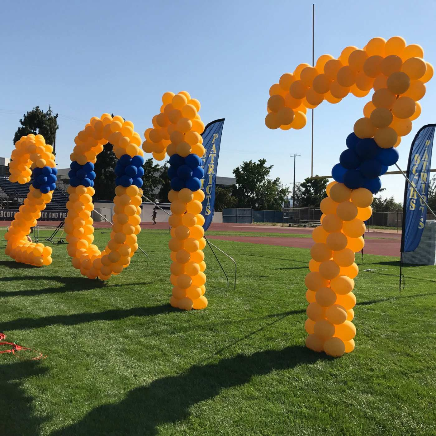 BCCHS Graduation Balloon Numbers