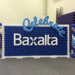 Corporate custom balloon wall and columns