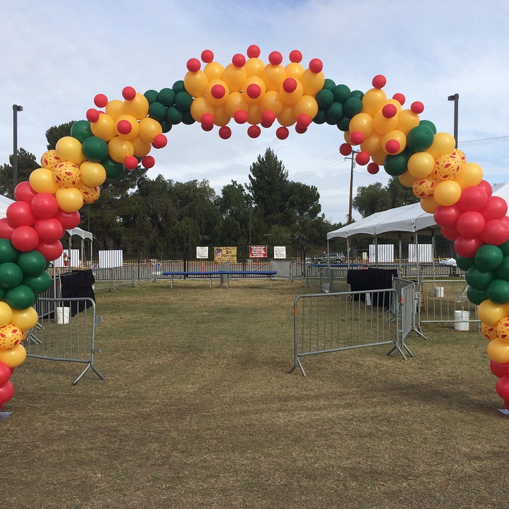 Fiesta Balloon Arch