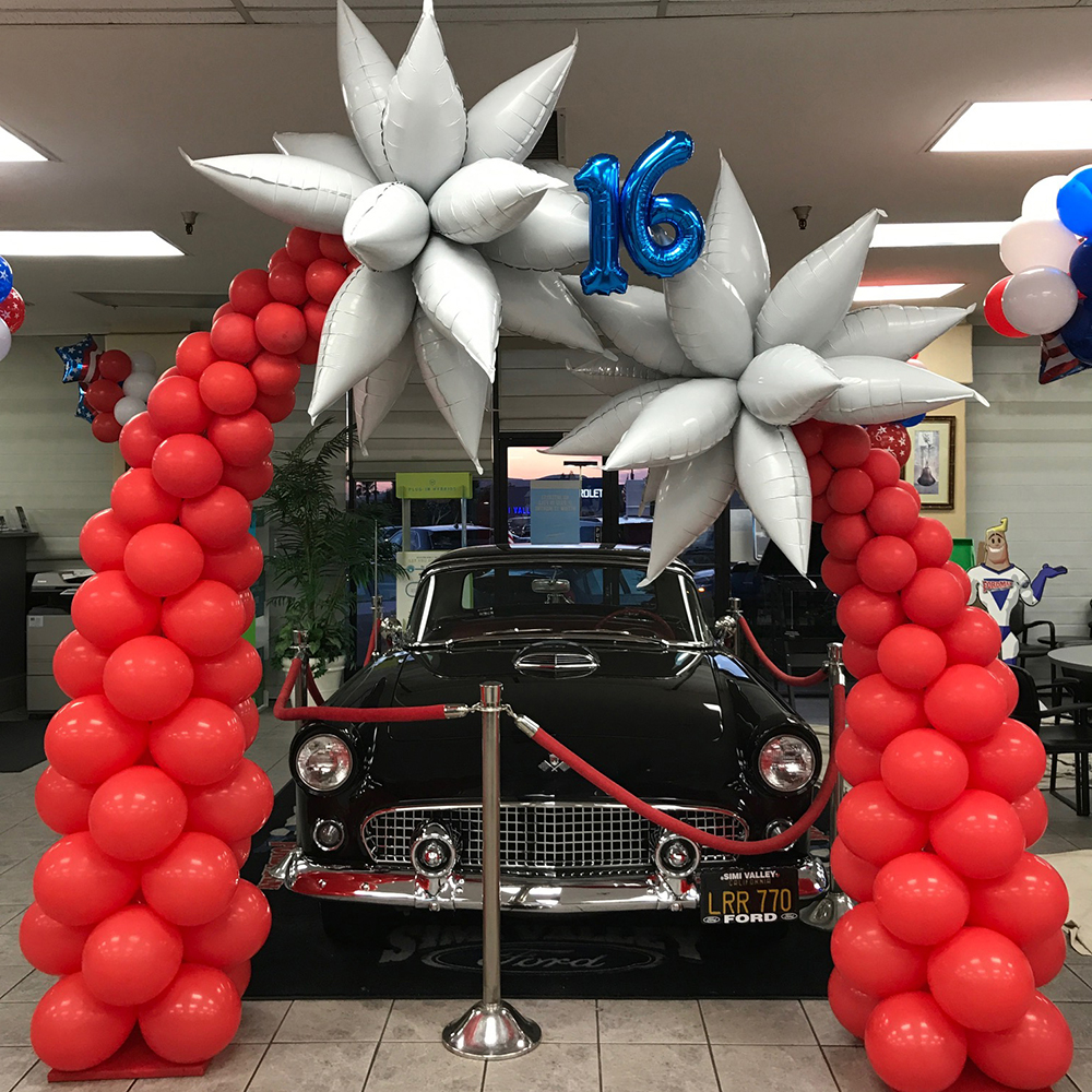 Shooting star arch Simi Valley Ford 16th Anniversary