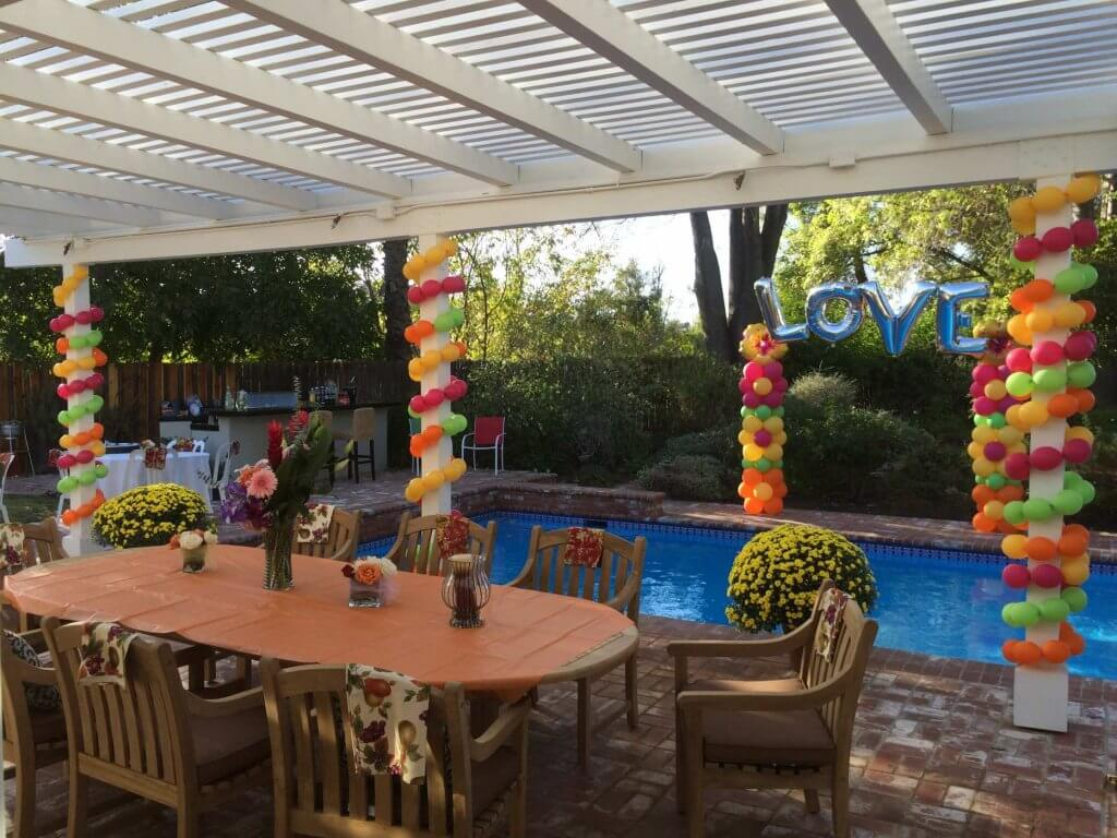 tropical party design and decorating simi valley under the sea