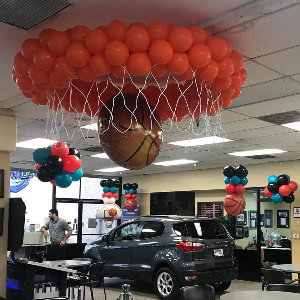 Outdoor Balloon Structures Designs Decorations For Sports Events